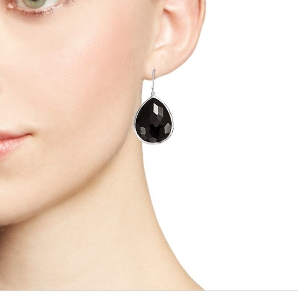 Ippolita Jewelry - IPPOLITA Rock Candy® Teardrop Earrings Large Black